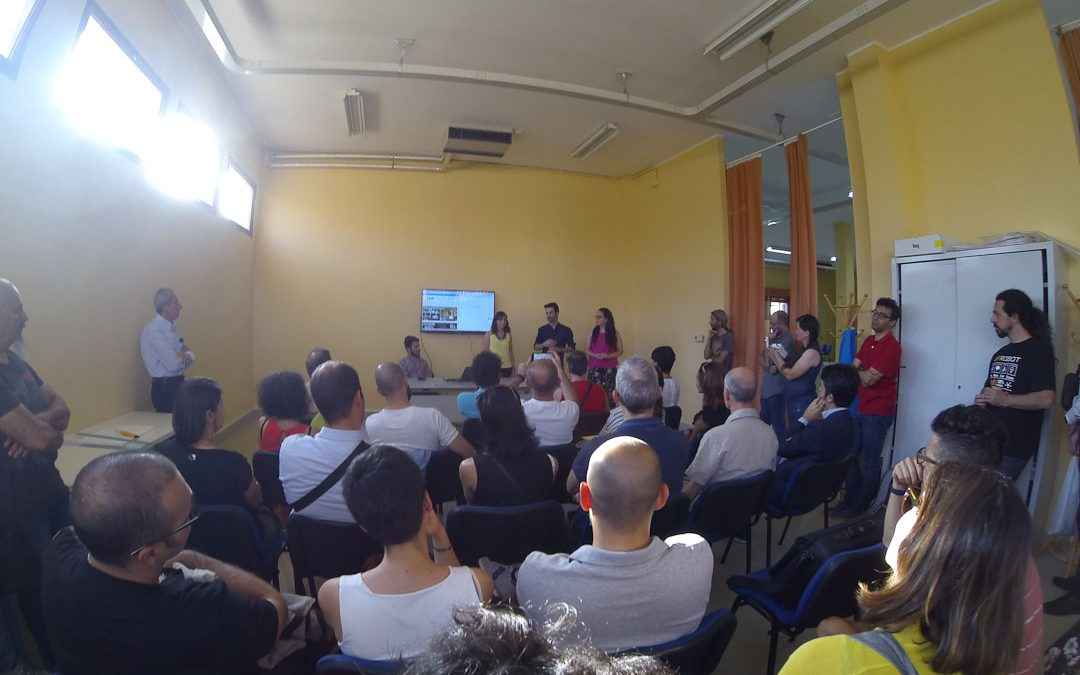 L'inaugurazione del FabLab Cagliari ad Assemini