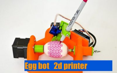 Costruiamo la  Egg-bot  2d printer